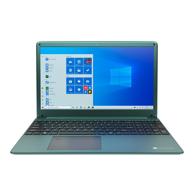 Notebook Gateway GWTN156 Core i5-1035G1 16GB 256GB SSD Pantalla Full HD 15.6'' Webcam Bluetooth Windows 10 - Verde 1