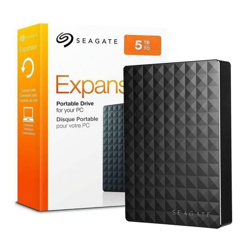 Disco Duro Externo Seagate Expansion STEA5000402 2.5' 5TB USB 3.0 1