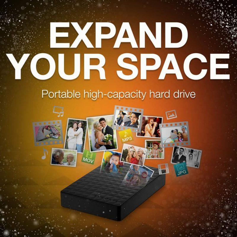 Disco Duro Externo Seagate Expansion STEA5000402 2.5' 5TB USB 3.0 3