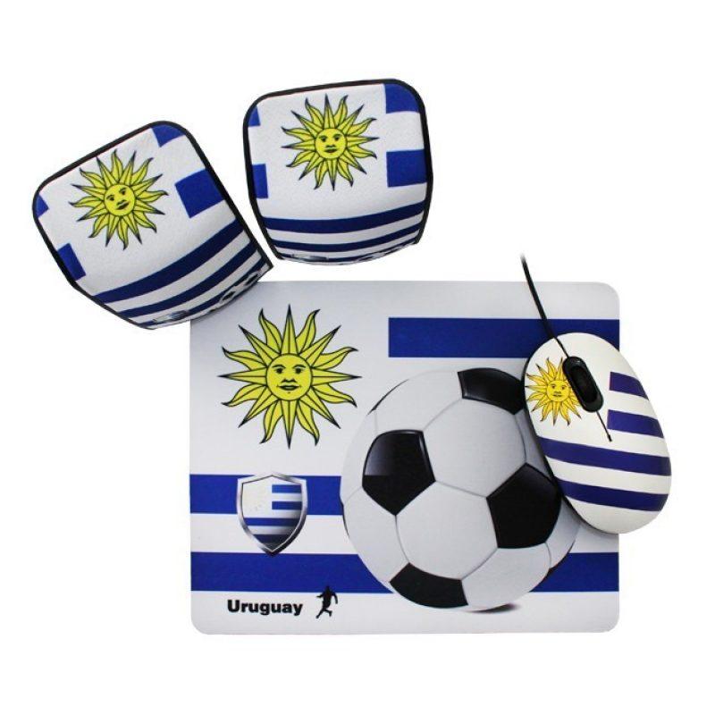Kit de Mouse + Parlantes + Mouse Pad Kolke KMPP-100 de Uruguay 1