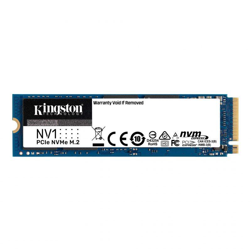 Disco Solido SSD M2 Kingston PCIe NVMe 1 TB NV1 SNVS/1000G 1
