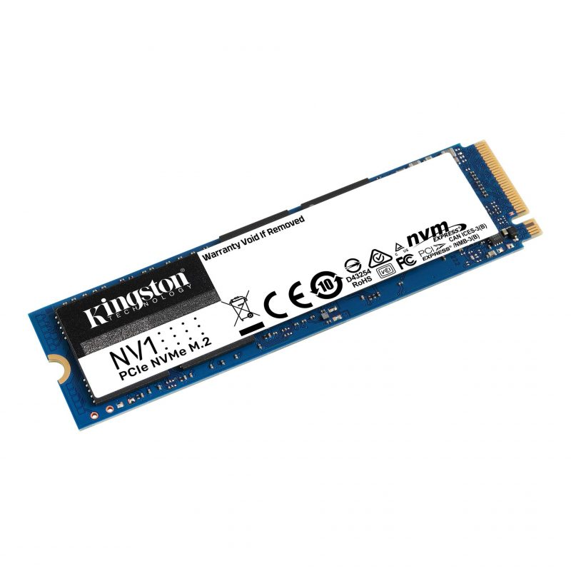 Disco Solido SSD M2 Kingston PCIe NVMe 1 TB NV1 SNVS/1000G 2
