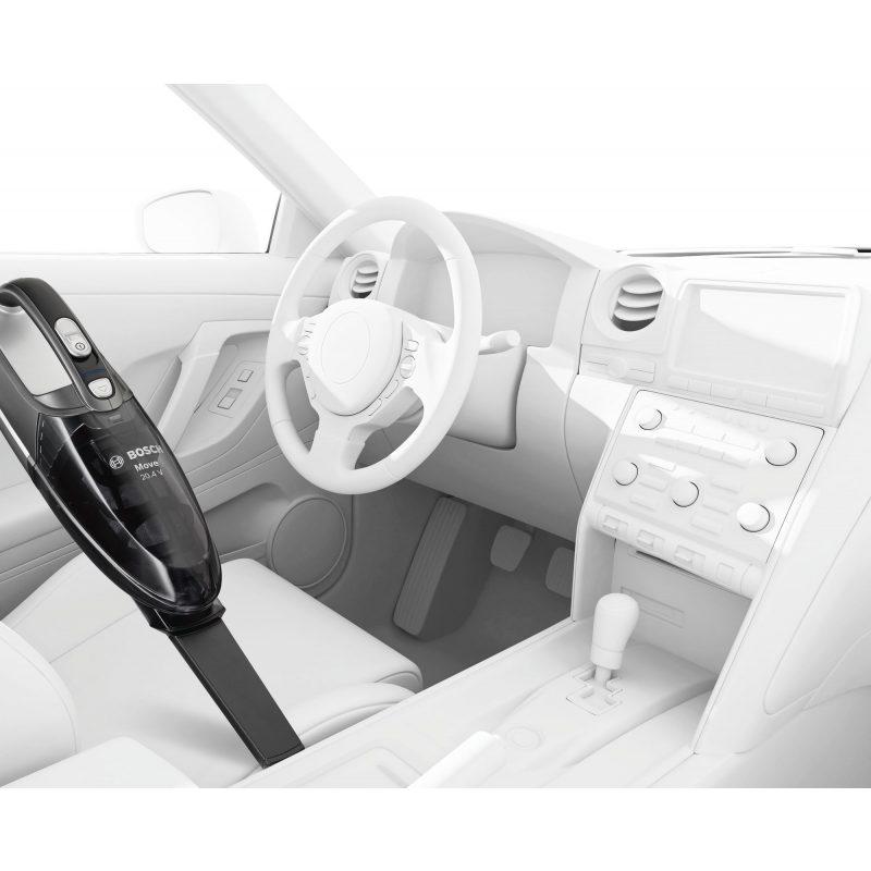 Aspiradora de Mano Bosch BHN20110 Move Recargable Compacta Portable 4
