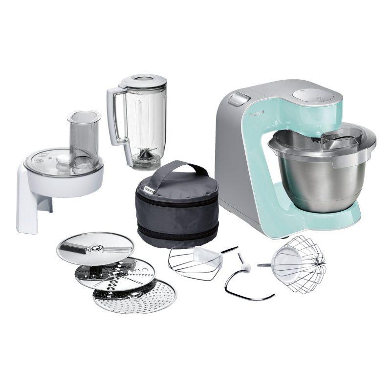 Robot de Cocina Bosch MUM58020 1000W con Accesorios - Color Menta 2
