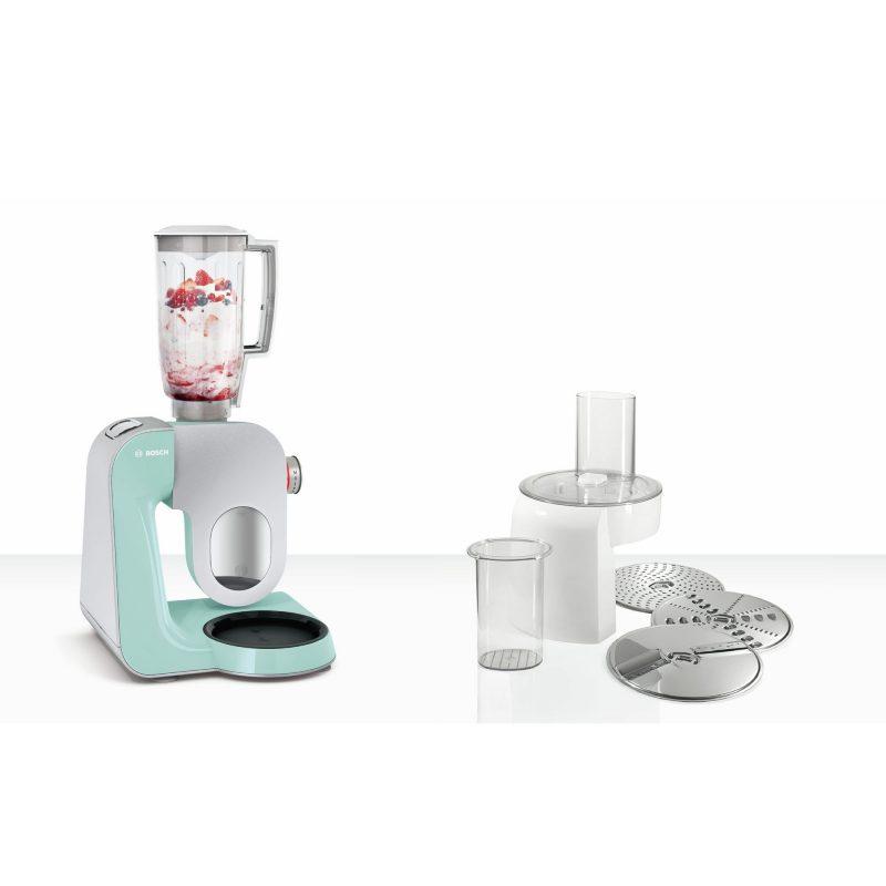 Robot de Cocina Bosch MUM58020 1000W con Accesorios - Color Menta 3