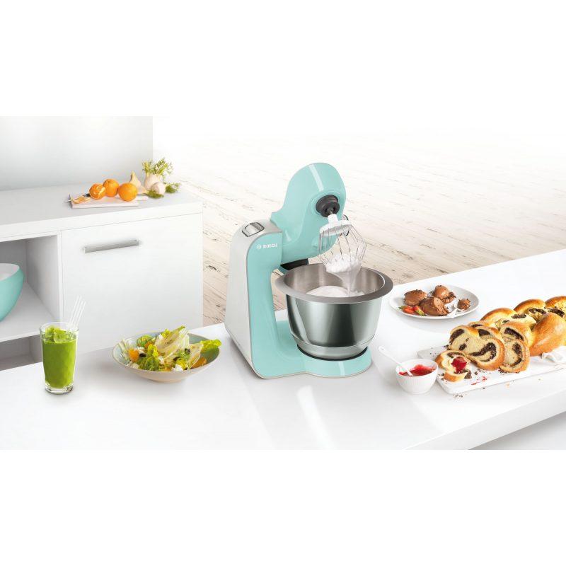 Robot de Cocina Bosch MUM58020 1000W con Accesorios - Color Menta 4