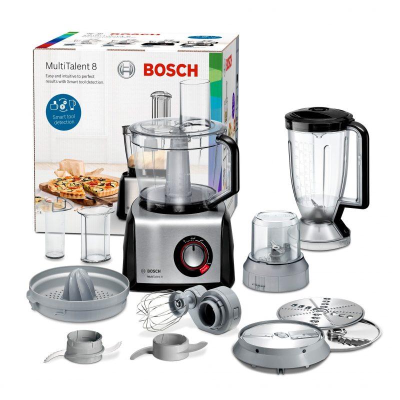 Procesador de Alimentos Bosch MC812M844 Multitalent Acero Inox 1