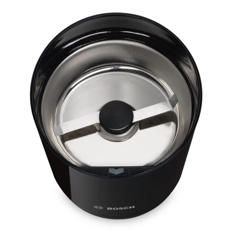 Molinillo de Cafe Bosch TSM6A013B 180w Cuchilla y Bandeja de Acero inox 4