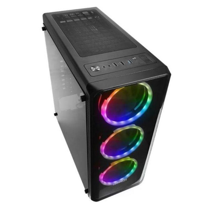 PC Computadora Gamer Warrior Core i5-2400 12GB RAM 240GB SSD + Tarjeta de Video GT710 2GB 3