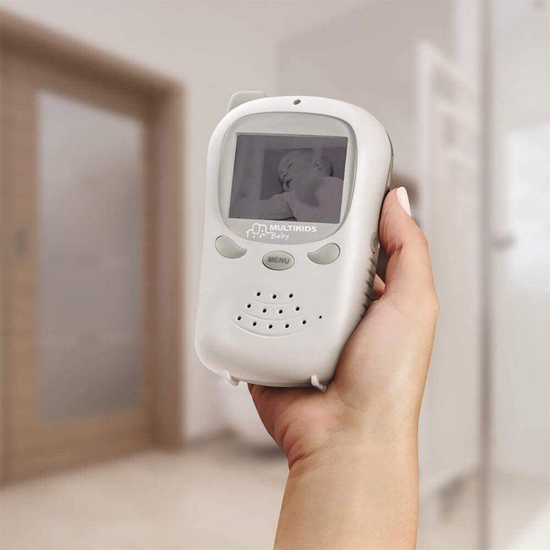 Baby Call Multikids Baby BB126 con Camara y Audio Walkie Talkie 4