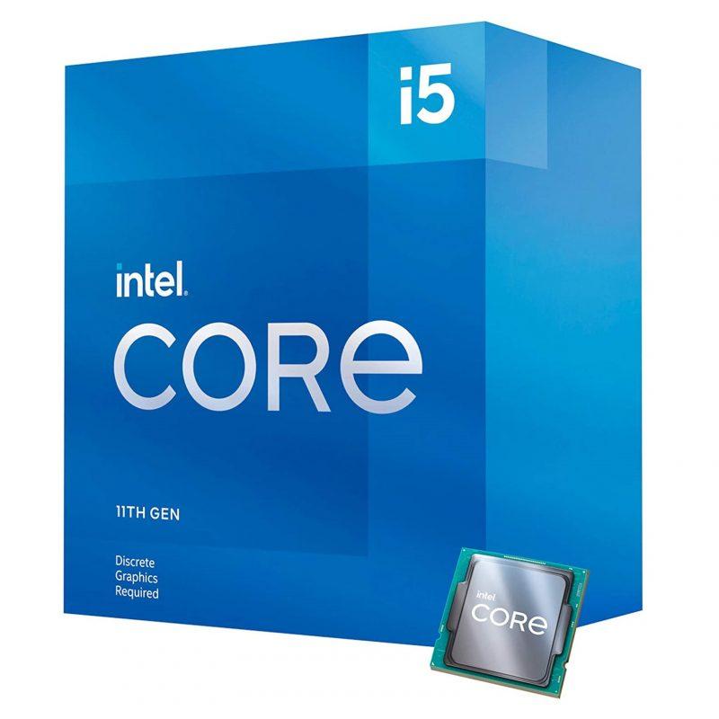 Micro Procesador CPU INTEL Core I5-11400F Socket LGA 1200 6 Nucleos Generacion 11 2