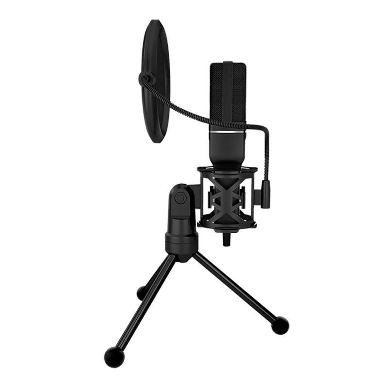 Micrófono de Condensador Profesional Marvo MIC-03 USB Gamer Streaming y Más 2