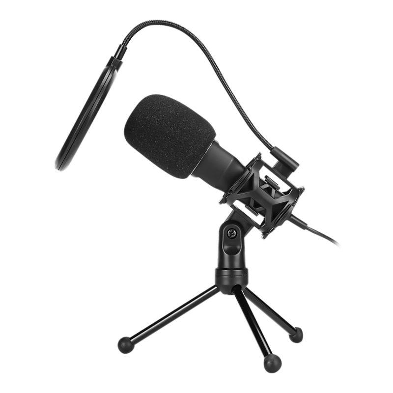 Micrófono de Condensador Profesional Marvo MIC-03 USB Gamer Streaming y Más 3