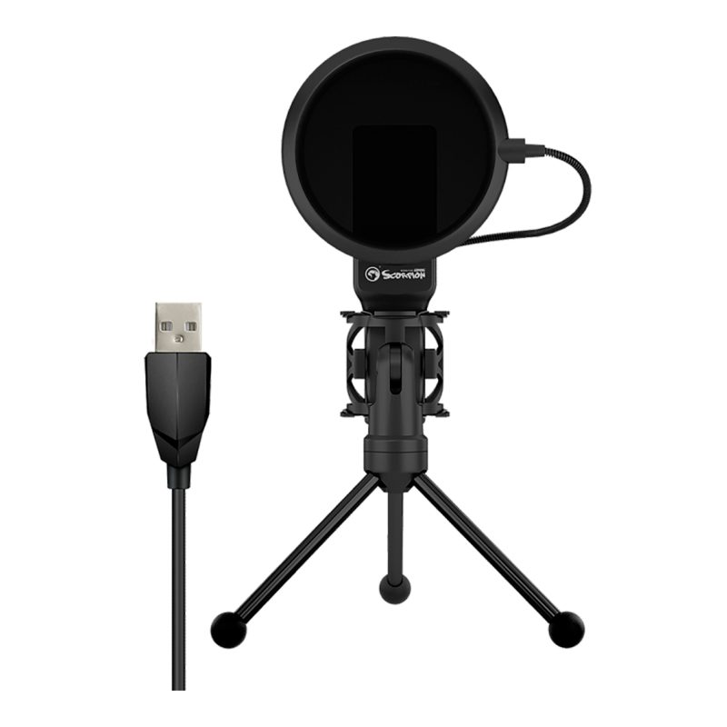 Micrófono de Condensador Profesional Marvo MIC-03 USB Gamer Streaming y Más 4