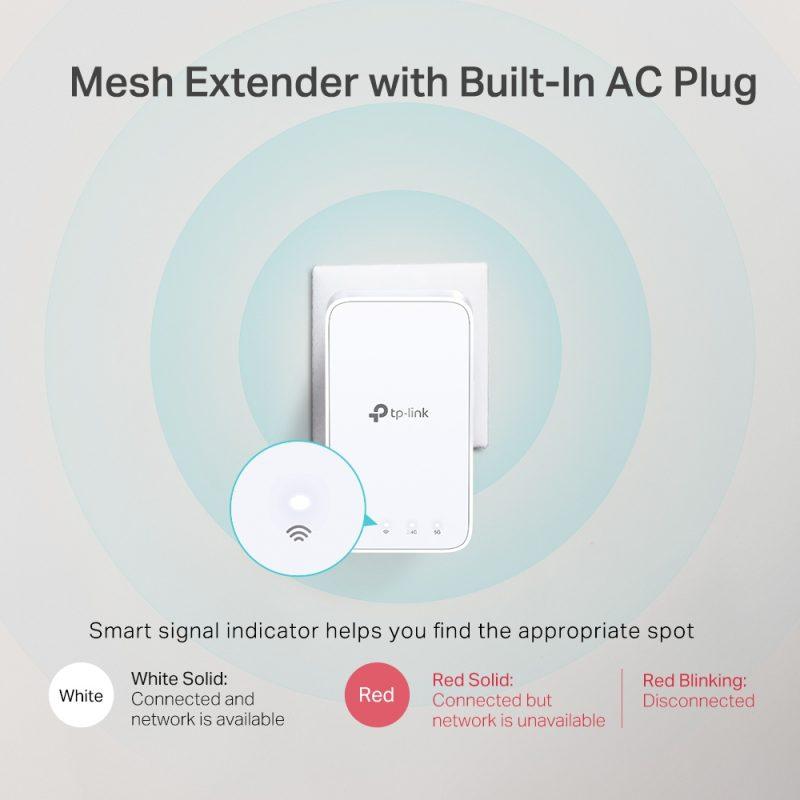 Router / Access Point TP-Link Deco E3 AC1200 Dual Band Tecnología Mesh (Kit 3 Unidades) 4