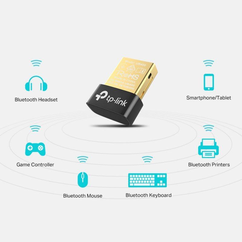 Adaptador Antena Nano USB Bluetooth 4.0 TP-Link UB400 4