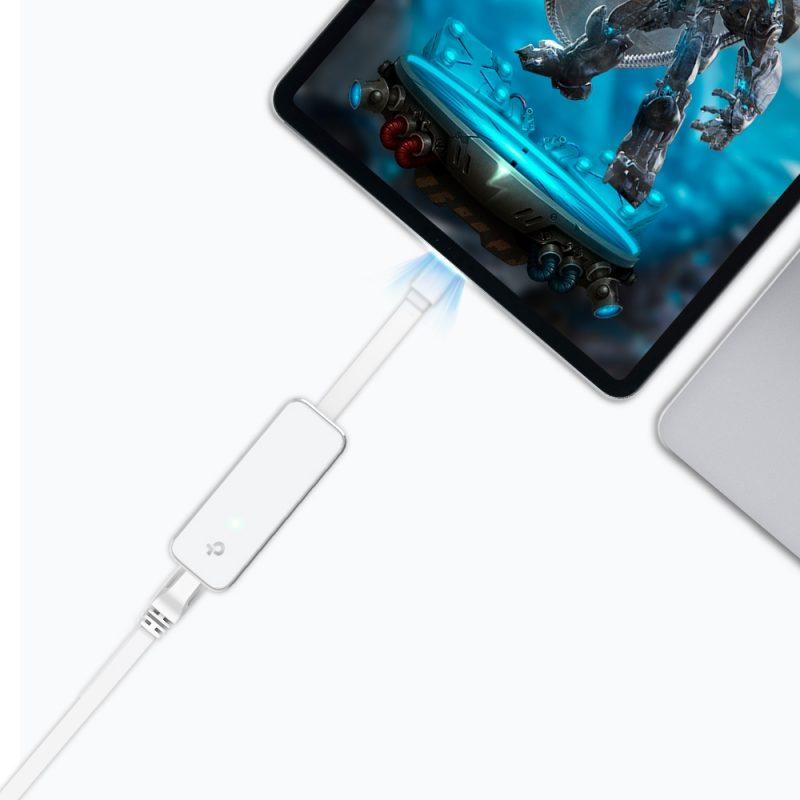 Adaptador de Red TP-Link UE300C de USB Tipo-C 3.0 a Ethernet Gigabit 4
