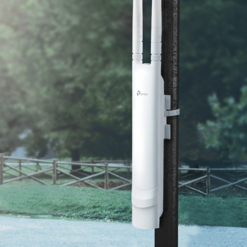 Access Point Extensor de WiFi Inalambrico para Exterior TP-Link EAP110 Outdoor Omada 300Mbps IP65 4