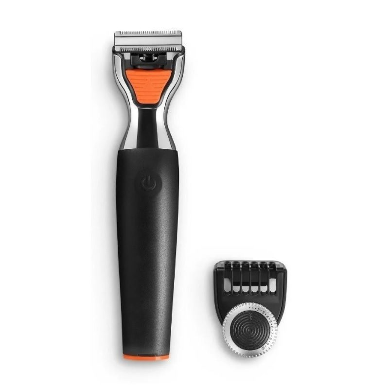 Afeitadora Facial y Corporal Profesional Multilaser EB024 3 en 1 Cuchillas de Acero Inoxidable 1