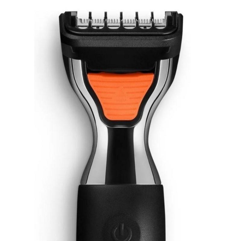 Afeitadora Facial y Corporal Profesional Multilaser EB024 3 en 1 Cuchillas de Acero Inoxidable 2