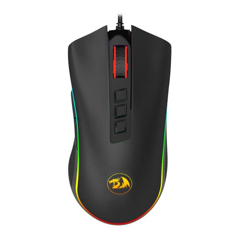 Mouse Gamer Redragon Cobra M711W Chroma RGB Botones Programables - Negro 1