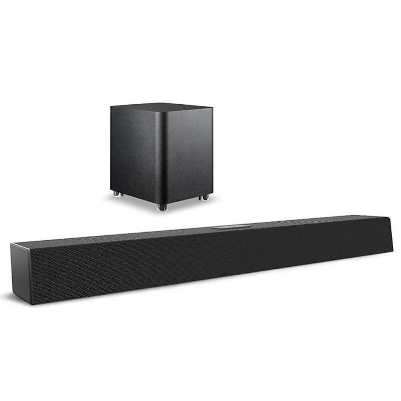 Soundbar Barra de Sonido Pulse SP381 2.1 Bluetooth 5.0 Optico Aux USB 320W RMS 4