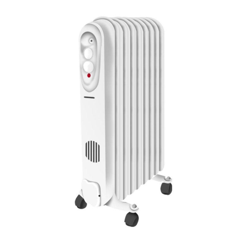 Radiador Electrico Punktal PK-6600CF 9 Elementos 2000W Termostato ajustable 1