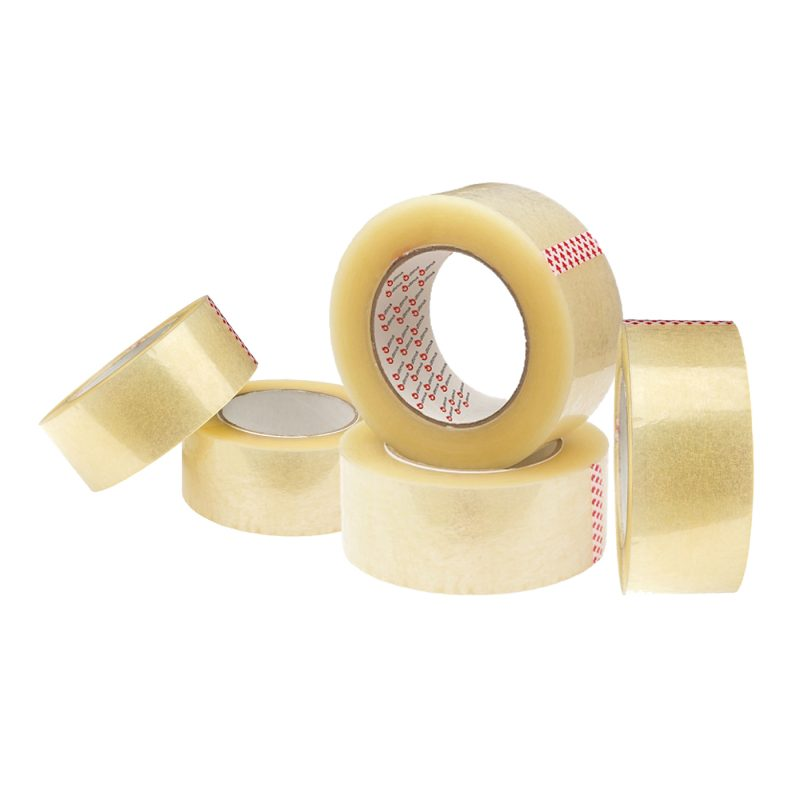 Cinta Adhesiva de Empaque Ancha Transparente 100 Metros c/u Pack x 5 Unidades 1