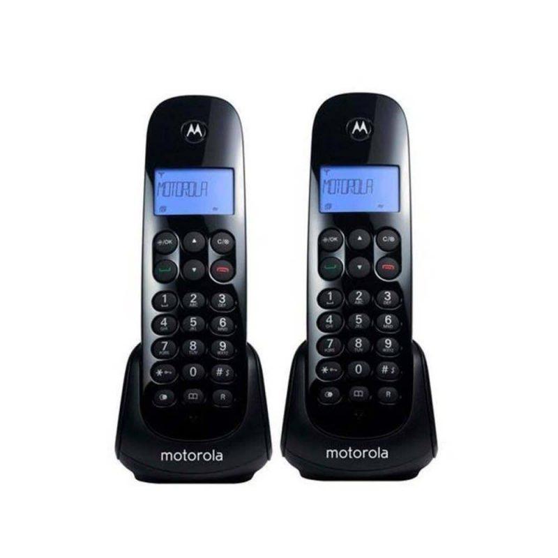Teléfono inalambrico Motorola M700-2 Doble Base DECT 6.0 con Captor 3