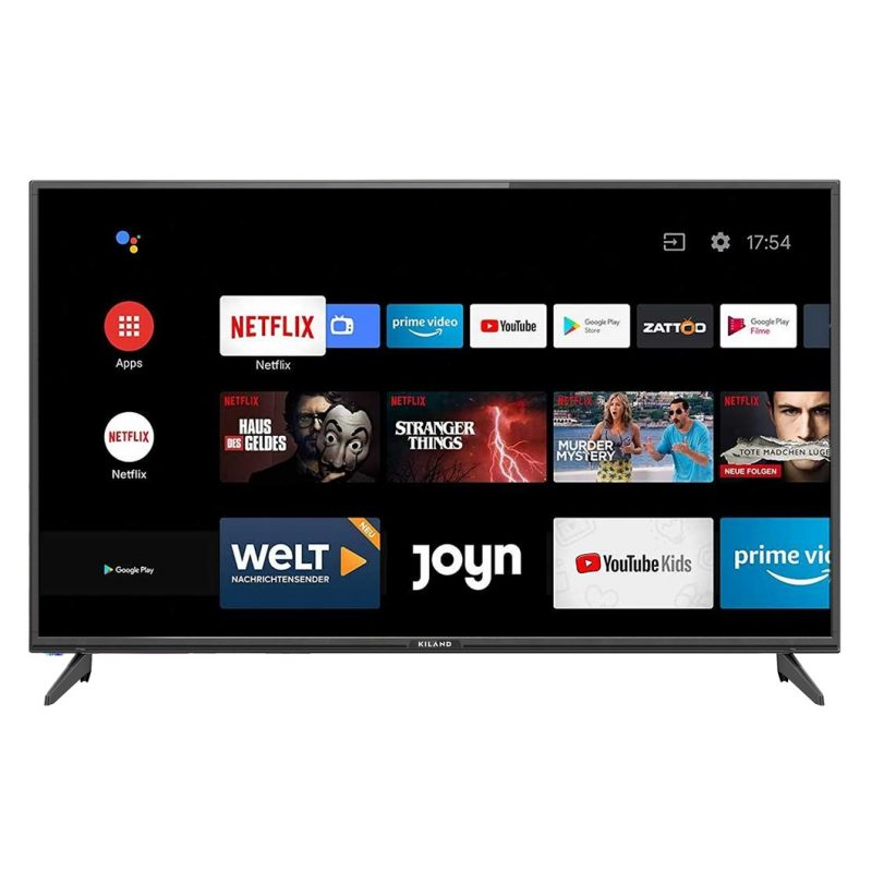 Smart TV LED Kiland DKLD32SMART 32'' HD Android 2 Controles HDMI USB WiFi 1