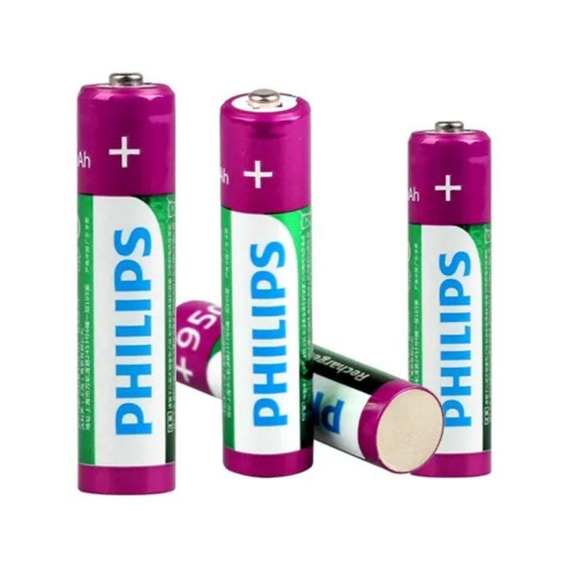 Pila Recargable Philips AAA 950mah Blister x4 Pilas 1