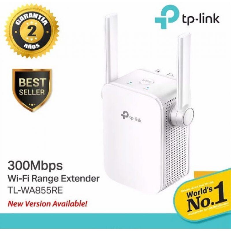 Extensor Repetidor de Señal Wifi TP-Link TL-WA855RE 2 Antenas 300Mbps 4