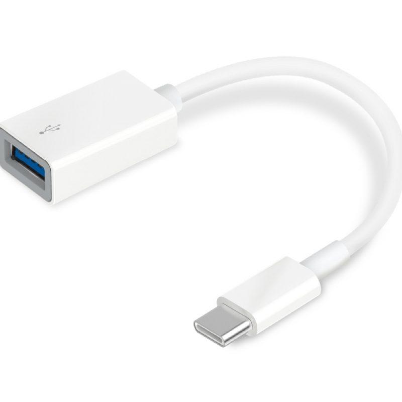 Adaptador Convertidor TP-Link UC400 De USB-A USB-C 3.0 1