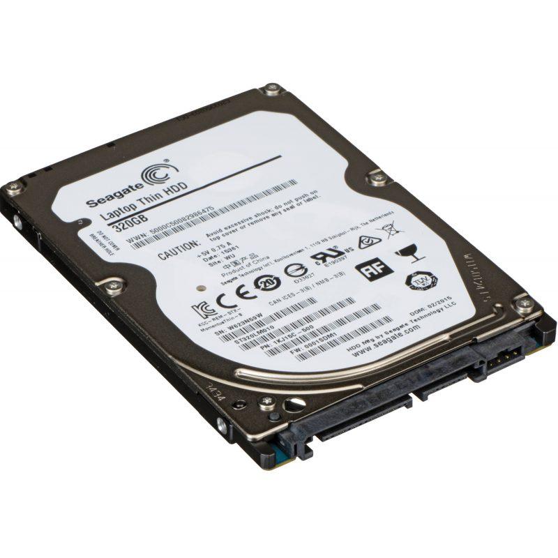 Disco Duro Sata 320 GB 2.5'' Para Notebook / Netbook Refabricados Varias Marcas 2