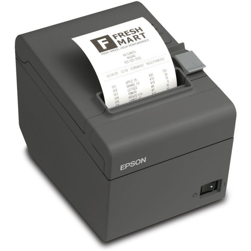 Impresora Epson TM T20II Termica de Tickets y Recibos USB 1