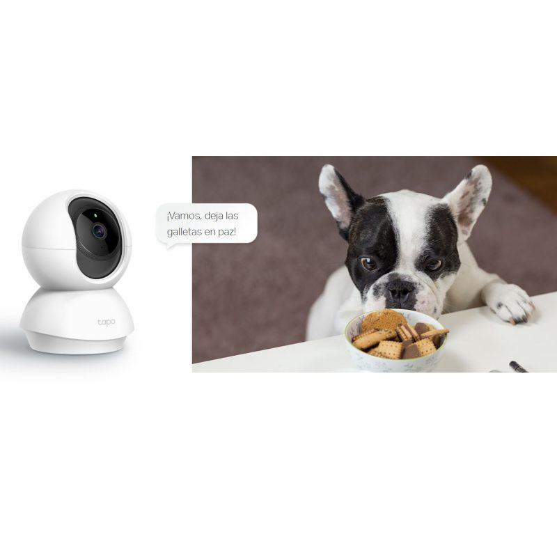 Camara ip WiFi Cloud TP-Link TAPO C200 Giratoria Full HD Vision Nocturna Audio Vision y Grabación Remota 4