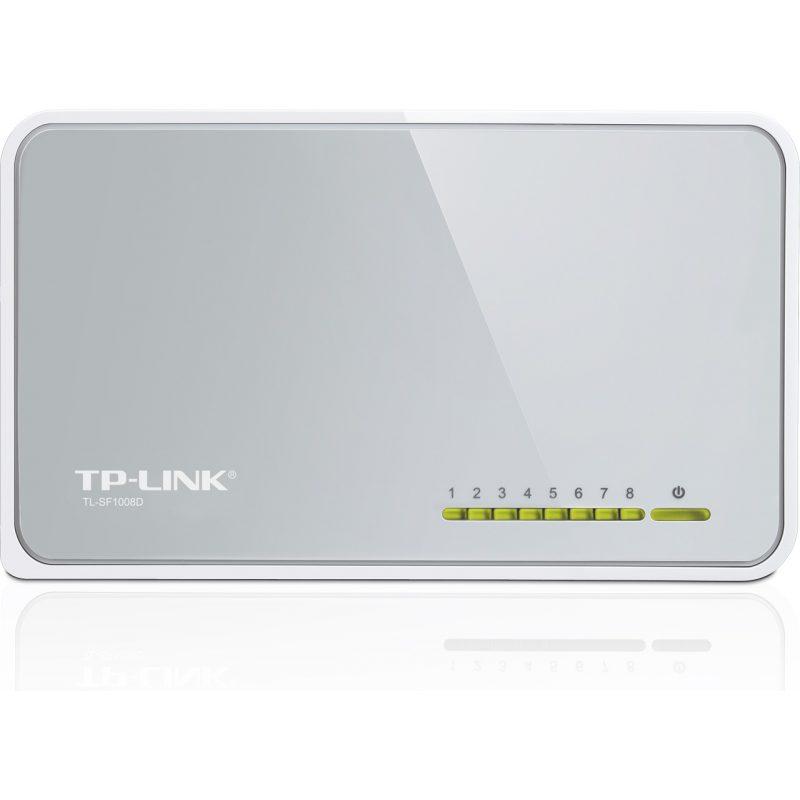 Switch TP-Link TL-SF1008D 8 Puertos Rj45 2