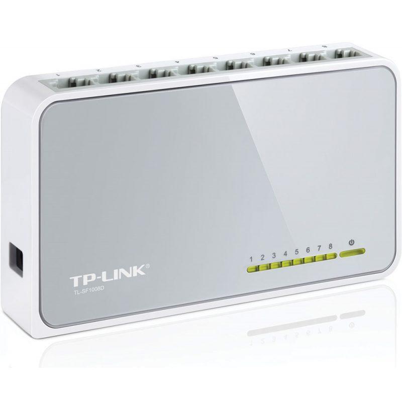 Switch TP-Link TL-SF1008D 8 Puertos Rj45 4