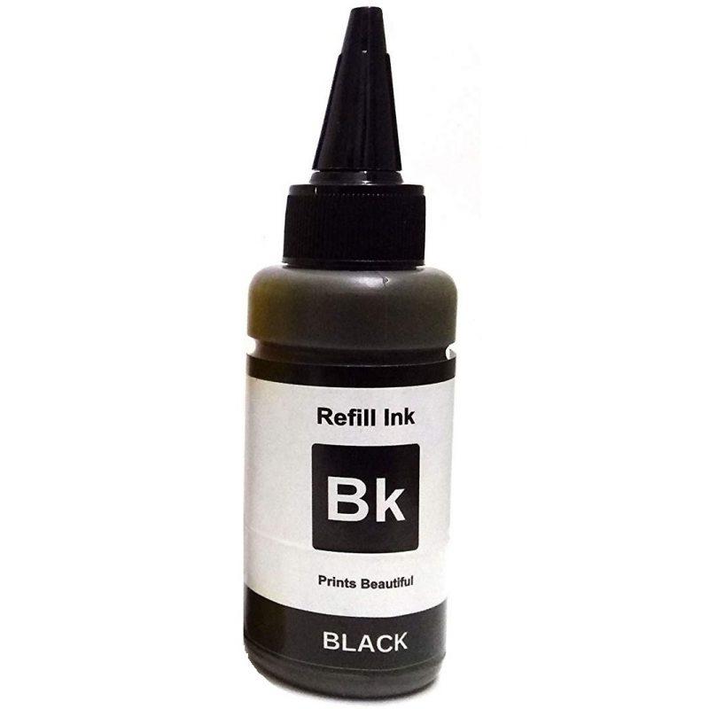 Botella de Tinta para Sublimación 100 ML Negro 1