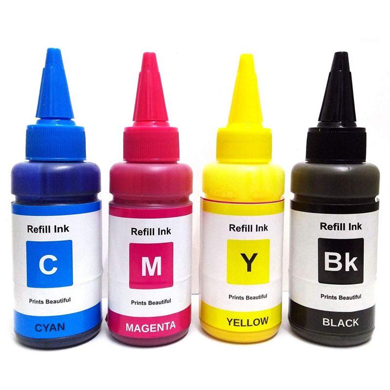 Botella de Tinta para Sublimación 100 ML Negro 2