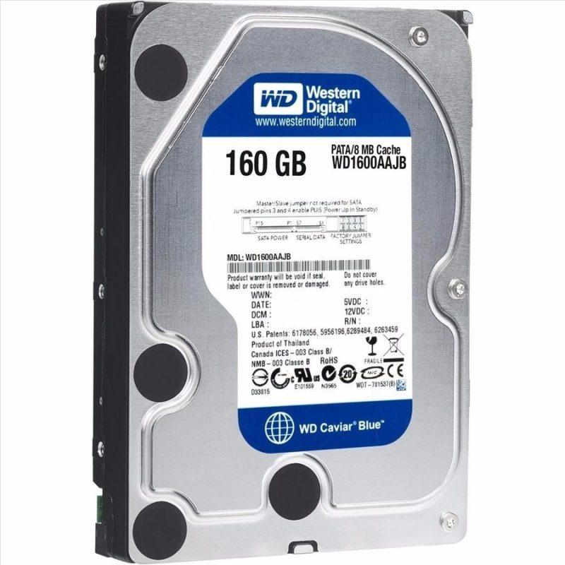 Disco Duro Sata 160 GB 3.5'' Para Pc Dvr Refabricado Varias Marcas 4