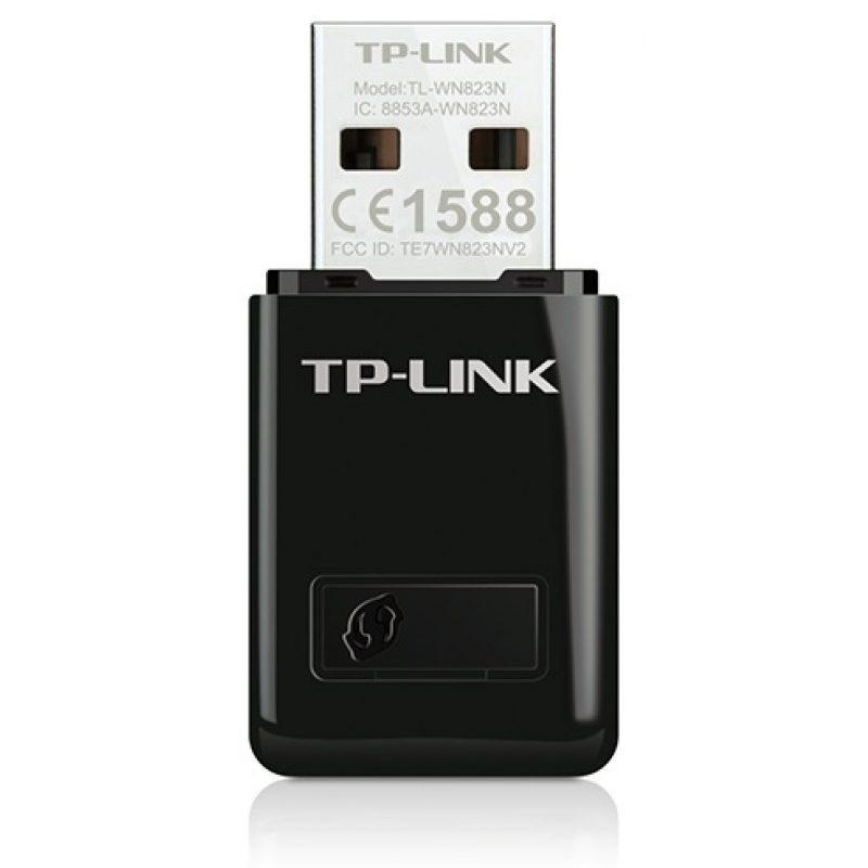 Adaptador de Red USB WiFi Inalambrico TP-Link TL-WN823N 300mbps Nano 4