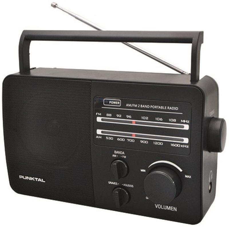 Radio Portatil Punktal PK-96AC AM/FM Pilas y Corriente 1