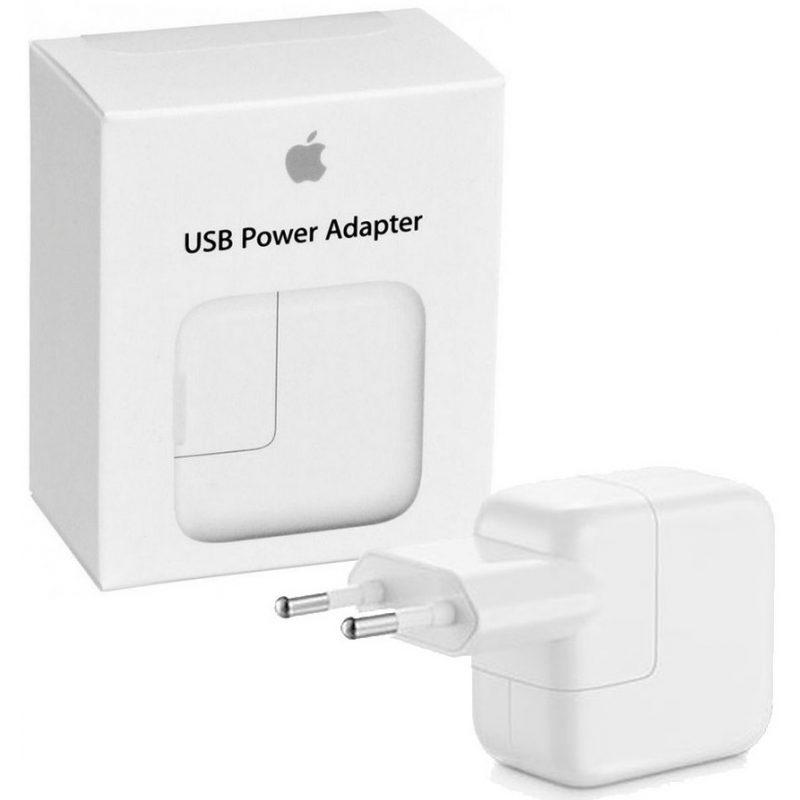 Cargador Apple MD836 12W iPhone iPad iPod Original USB a Corriente 220v Euro 1