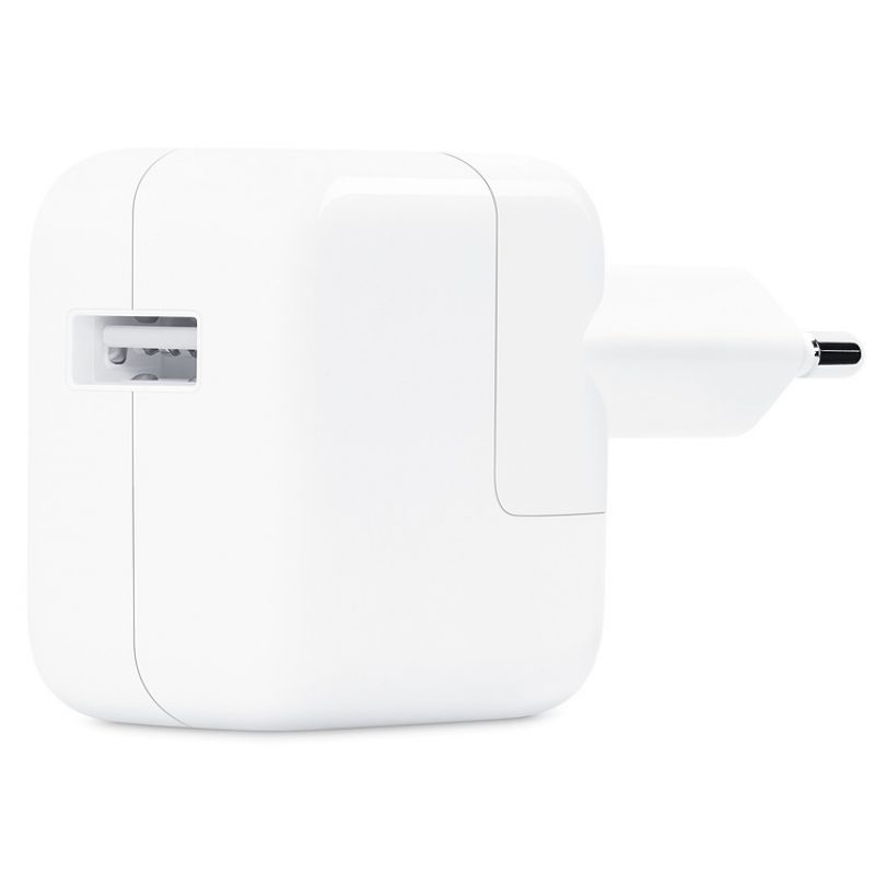 Cargador Apple MD836 12W iPhone iPad iPod Original USB a Corriente 220v Euro 2