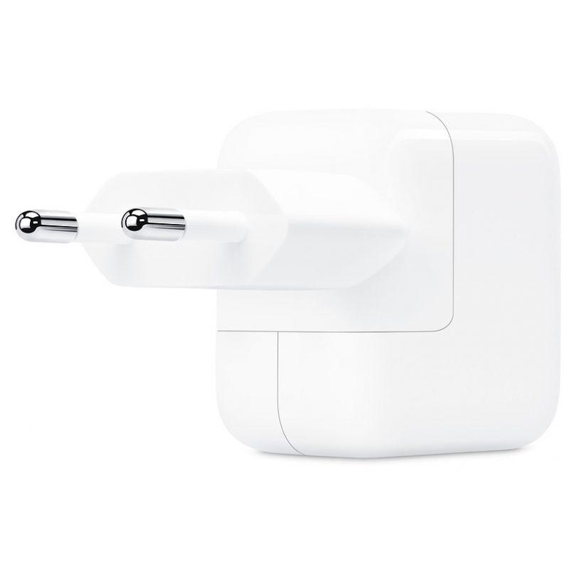 Cargador Apple MD836 12W iPhone iPad iPod Original USB a Corriente 220v Euro 3