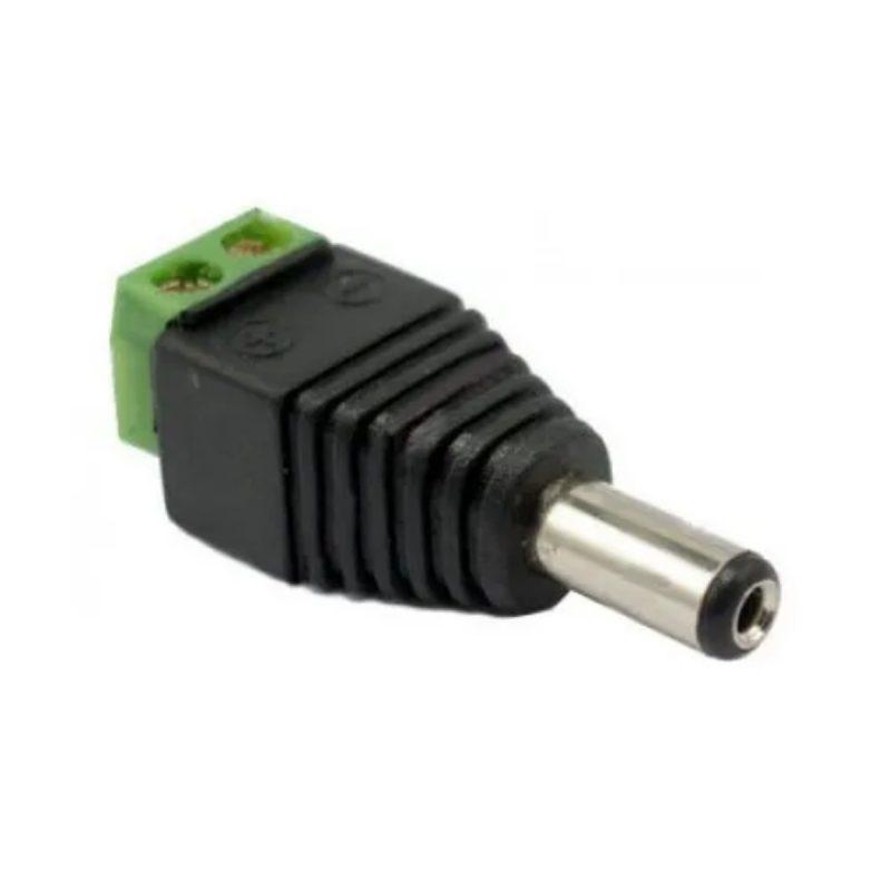 Conector 12v 2.1mm dc macho para CCTV Camaras Vigilancia 1