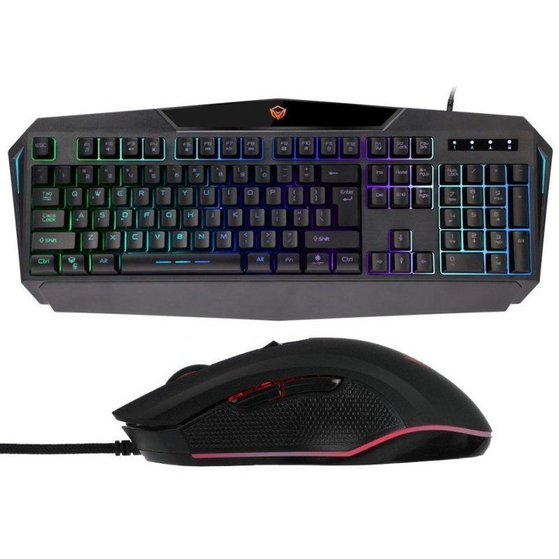Combo Teclado y Mouse Gamer MeeTion MT-C510 Retroiluminado RGB PC PS4 2