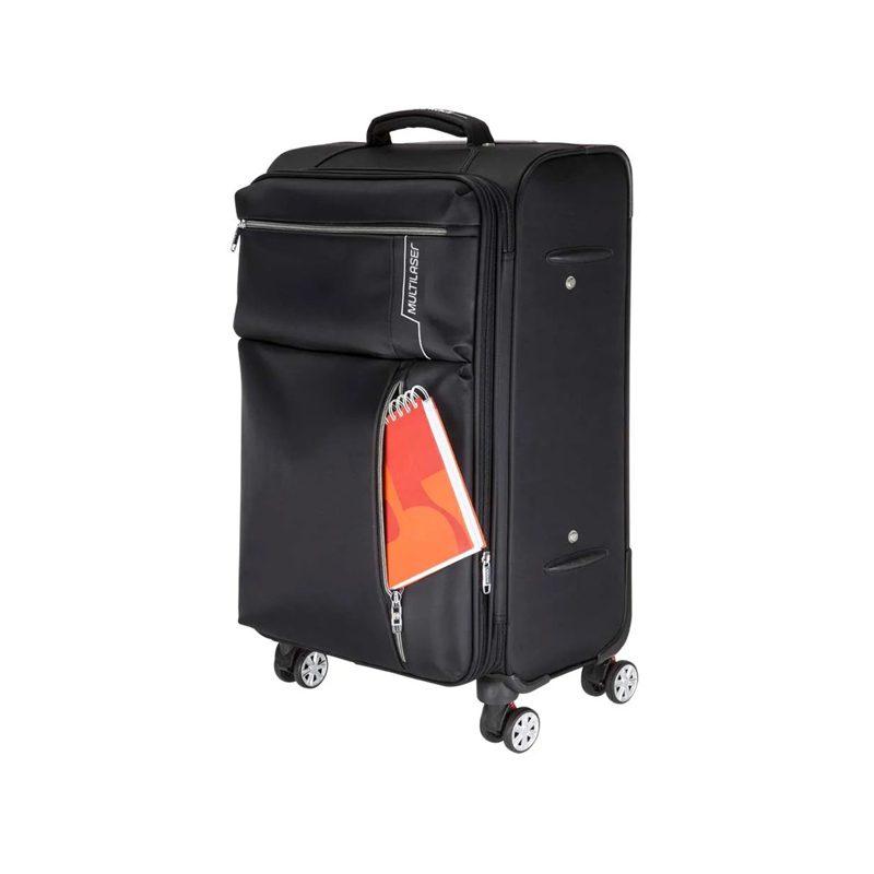 Maletas Valijas para Viaje Multilaser BO421 Kits 2 Unidades Grande / Mediana Calidad Premium 4 Ruedas 1