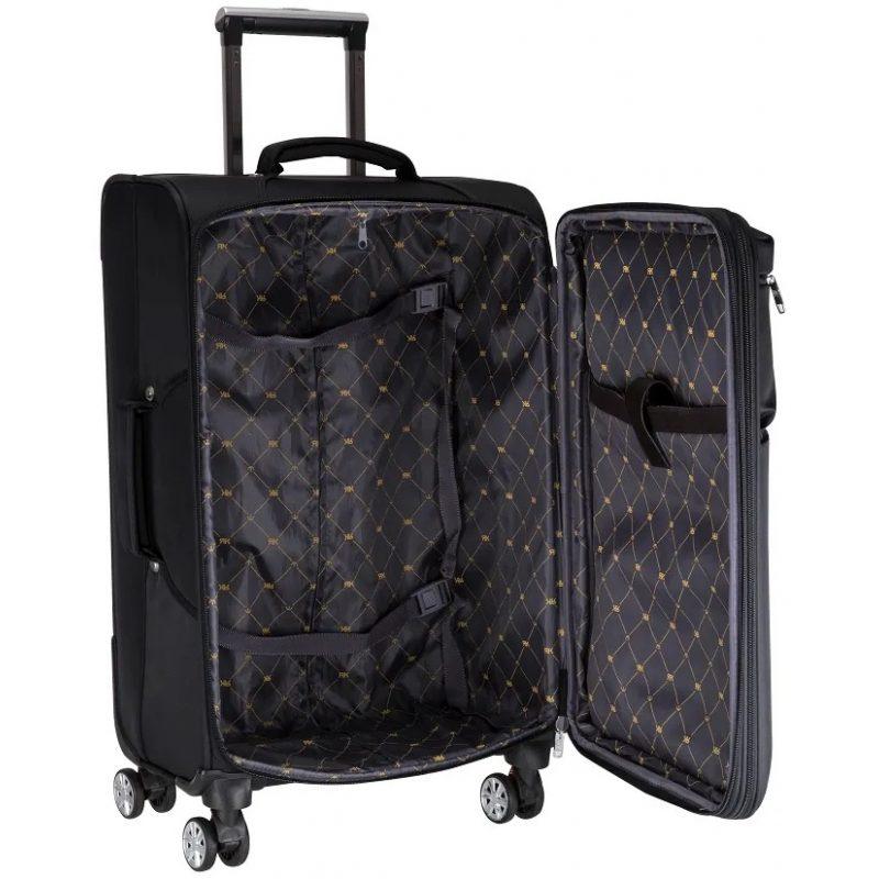 Maletas Valijas para Viaje Multilaser BO421 Kits 2 Unidades Grande / Mediana Calidad Premium 4 Ruedas 2